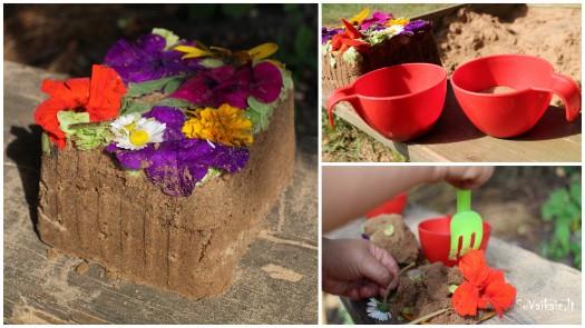 gėlių ir smėlio tortas1