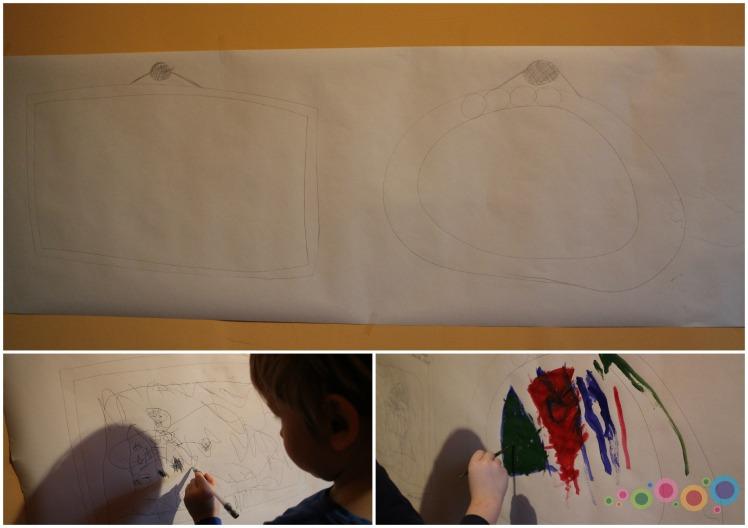popierius ant sienos