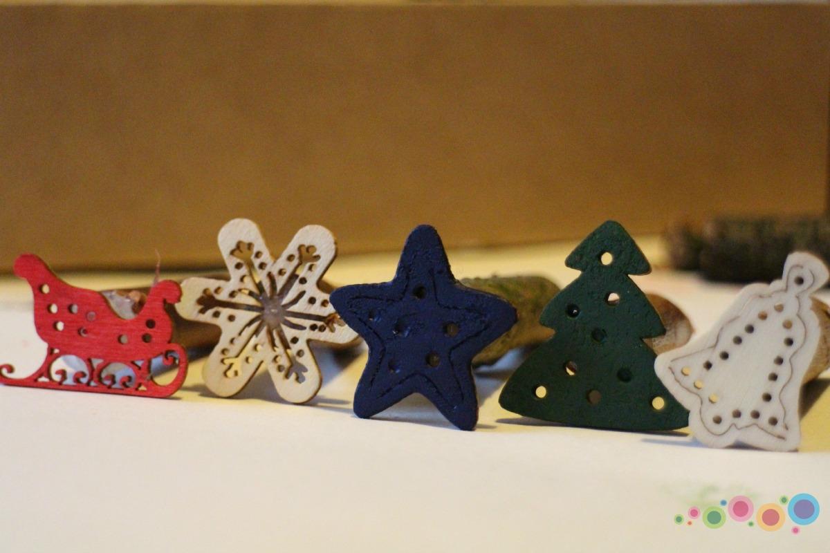 Kalėdiniai antspaudukai - pasidaryk pats
