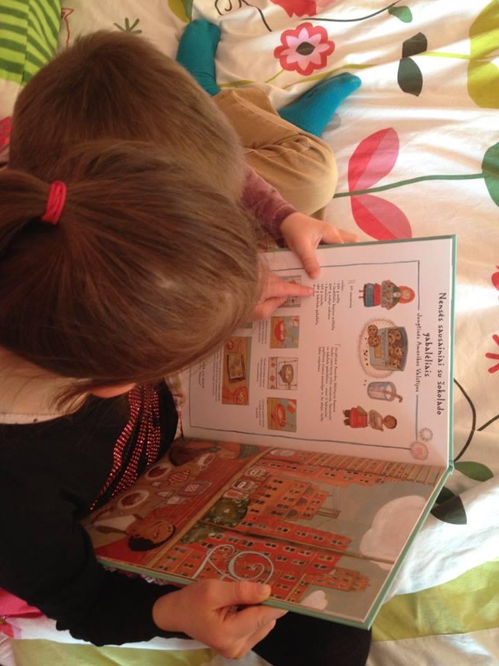 Paveiksleliu knygos vaikams