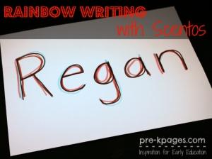 rainbow-writing-names