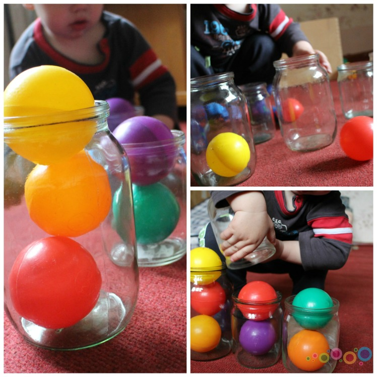 kamuoliukai stiklainiukai