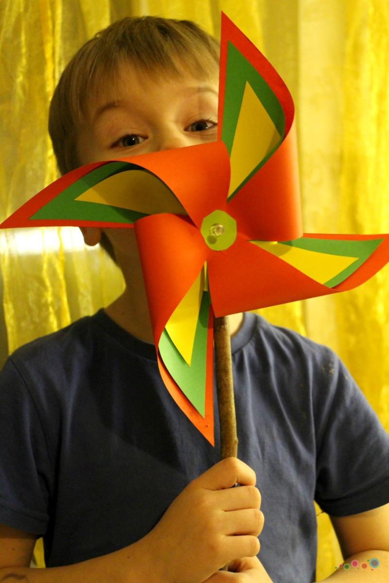 Lietuviškas vėjo malūnėlis