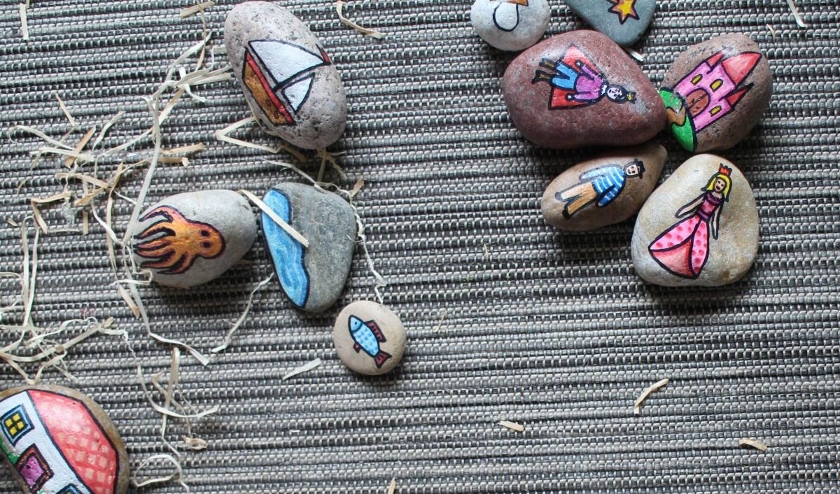 Išmanūs akmenukai: kad istorijos lietųsi laisvai